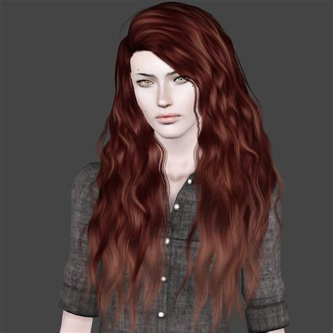 sims 3 hair cc curly and straight long hair sims 3 sims 3 board