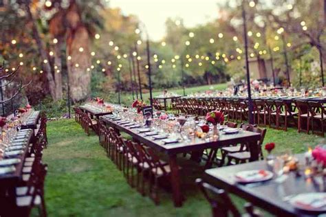 backyard wedding decoration ideas on a budget wedding