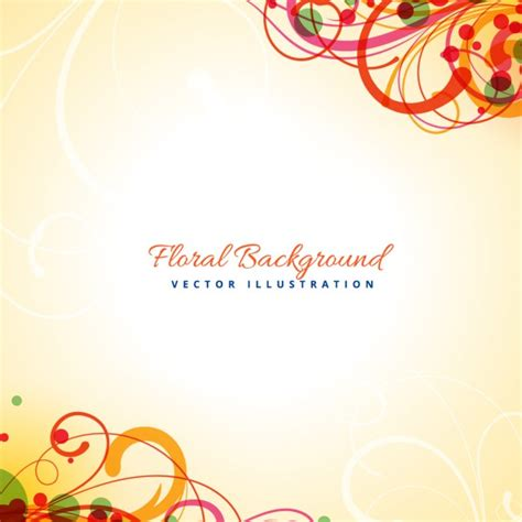 Abstrak Floral 1 abstract floral design vector free