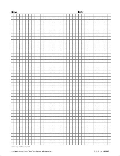 How To Make Grid Paper - free graph paper template printable graph paper and grid