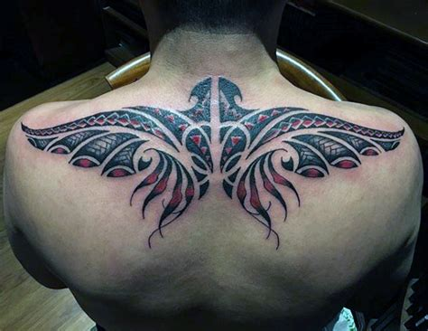 upper back tattoos for men 50 back tattoos for masculine ink design ideas