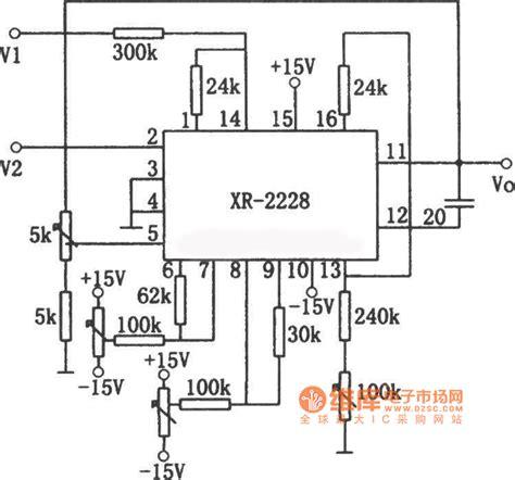 diagram common division xr 2228 division circuit diagram basic circuit circuit