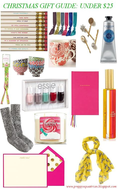 the preppy equestrian christmas gift guide under 25
