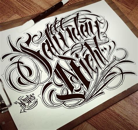 tattoo lettering sketch sketches chicanos lettering style sketches lettering