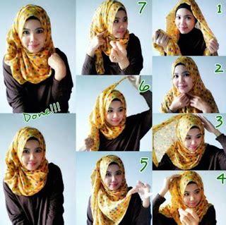 tutorial hijab untuk pesta terbaru 2015 contoh tutorial hijab modern untuk pesta terbaru 2016
