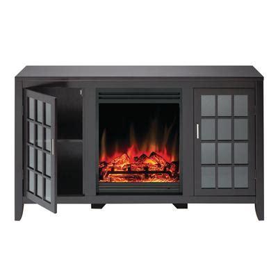 electric fireplace media unit muskoka mandarin electric fireplace media unit espresso