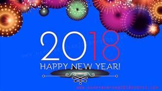 Calendar 2018 New Year Happy New Year 2018