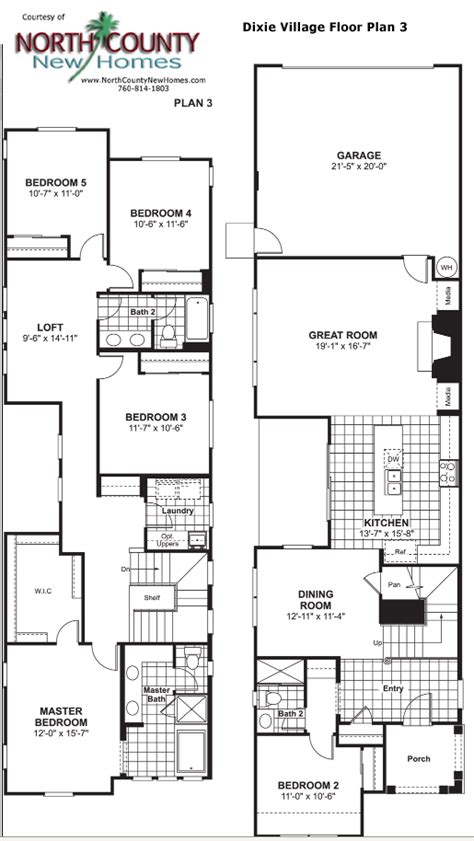 village homes floor plans dixie village floor plan 3 new homes in oceanside