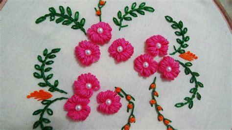 Embroidery Designs Handmade - embroidery bullion knot stitch doovi