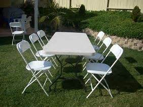tables chairs el paso kytziland rentals