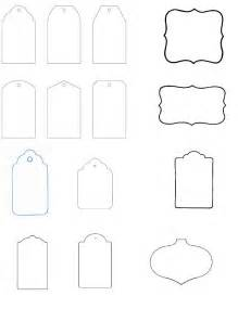 templates for tags for favors free printable blank gift tags clipart best
