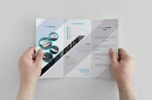 creative brochure templates free creative trifold brochure template free design resources