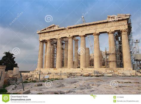 Big Ben Athena athena parthenon temple royalty free stock photo image