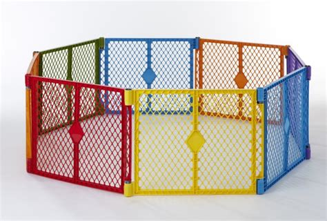 states color superyard baby pet gate portable play