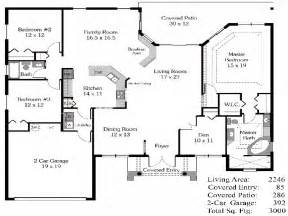 Most Popular Floor Plans 4 Bedroom House Plans Open Floor Plan 4 Bedroom Open House