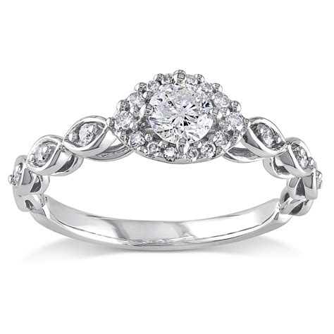infinity engagement ring for