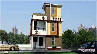 3 Floor House by Tamilnadu Style 3 Storey House Elevation Home Kerala Plans