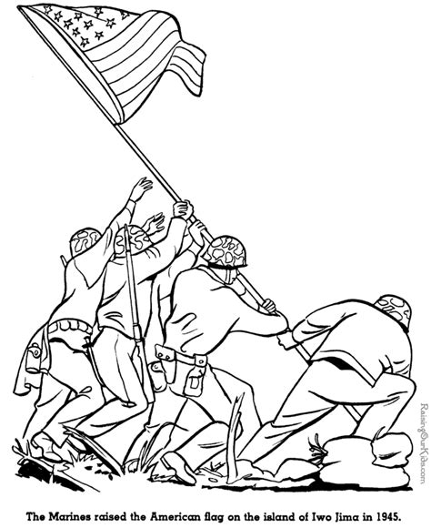 coloring pages for us history iwo jima history coloring pages for kid 109