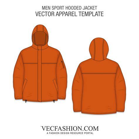 sports jacket template vector apparel templates