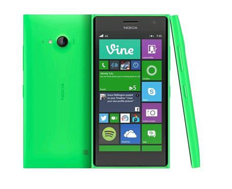 nokia lumia 735 nokia lumia 735 4g vert a00021333 expansys