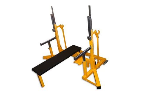 squat bench combo rack er equipment ipf approved squat bench press rack
