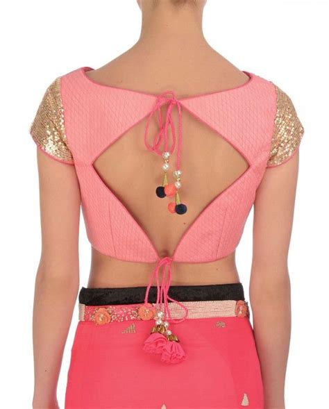 Latest And Trending Blouse Back Neck Designs Top Best Neck Back Designs For