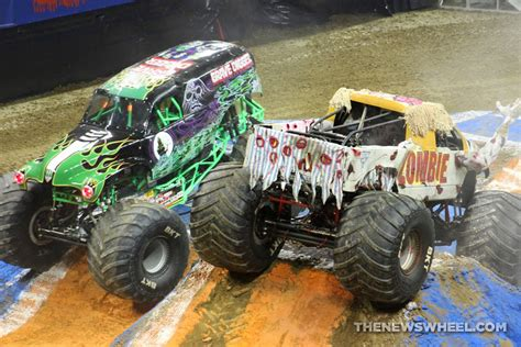 monster truck show new york monster jam show dayton zombie and grave digger trucks