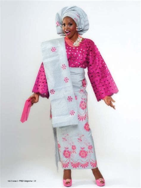 yoruba iro and buba style with lace and picture la blackeuse africa fashion nous avons aim 233 ces tenues