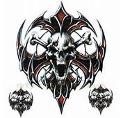 AWESOME SKULLS  N STUFF Images Tribal Skull Crossbones
