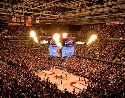 How Much Do Nba Floor Seats Cost by Quicken Loans Arena Seating Chart Row Seat Numbers