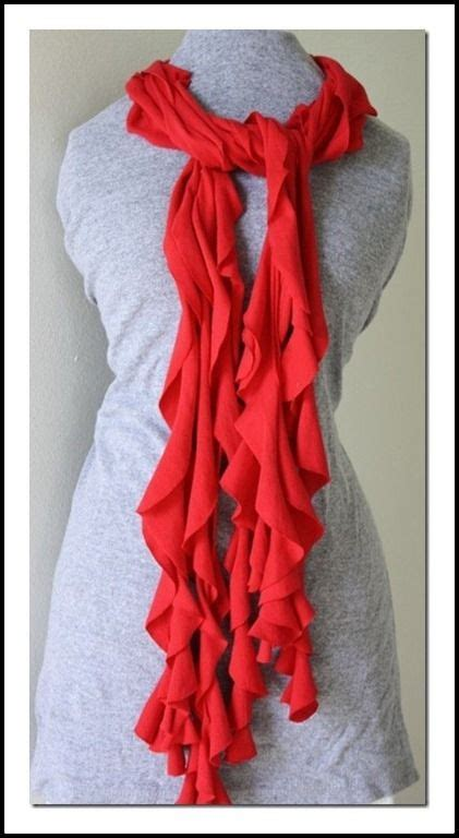 t shirt infinity scarf pattern no sew t shirt scarf make create do clothes dyi