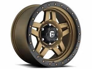 Bronze Wheels On Truck Fuel Bronze Anza Wheels Realtruck