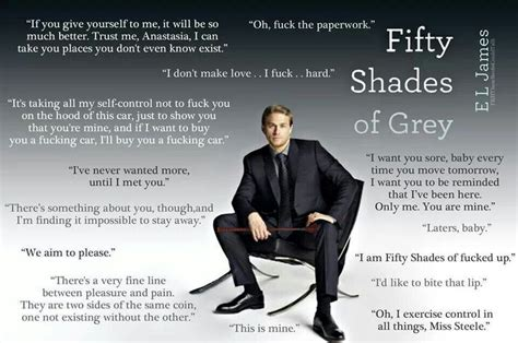 fifty shades of grey movie quotes christian grey quotes love of mr grey