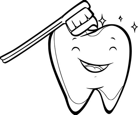 coloring sheets of dentist coloring page tooth
