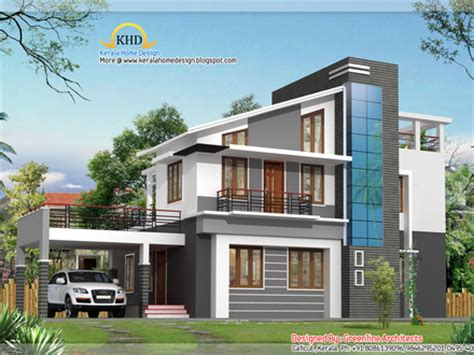 duplex house plan and elevation 3122 sq ft home appliance duplex house elevation 204 square meters 2200 sq ft