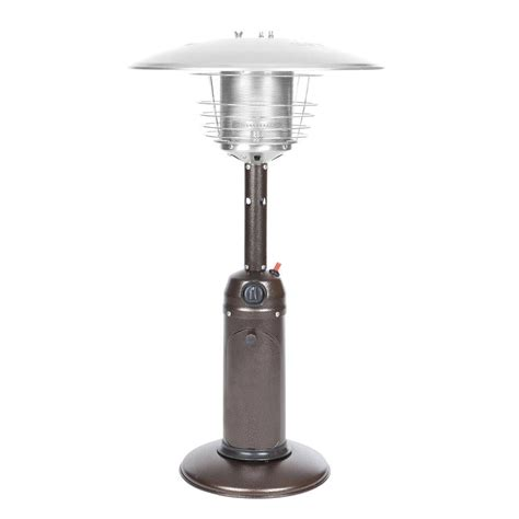 Hammer Tone Bronze Finish Table Top Patio Heater Bronze Patio Heater