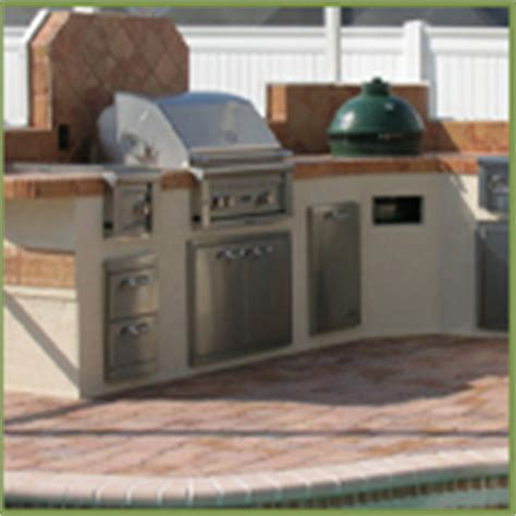 outdoor kitchen backsplash ideas jacksonville backyard hardscapes landscapes ecoscapes