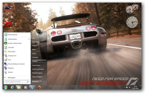 theme for windows 7 nfs most wanted need for speed windows 7 theme game themes