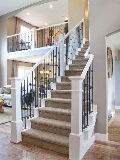 Traditional Staircase Ideas Traditional Staircase Wrought Iron Stairs Design Pictures Remodel Decor And Ideas White