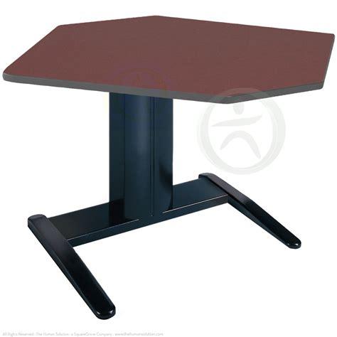 Electric Height Adjustable Computer Desk by Shop Mayline Varitask Series E Corner Electric Desk
