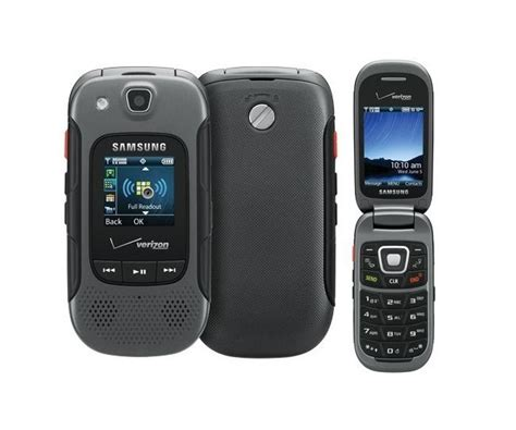rugged samsung phone used samsung convoy 3 u680 verizon feature rugged flip cell phone ebay
