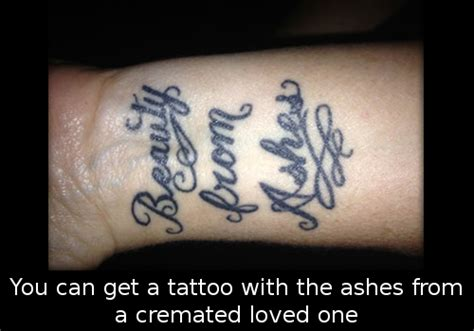 tattoo with cremation ashes tattoo collections