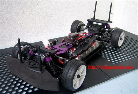 Titanium Color Alloy Chassis Upgrade Parts For Hsp Rc1 10 Road Car myr 380 00 including shipping cost within west malaysia