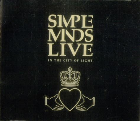 Simple Minds Live In The City Of Light by Simple Minds Live In The City Of Light Japanese 2 Cd Album