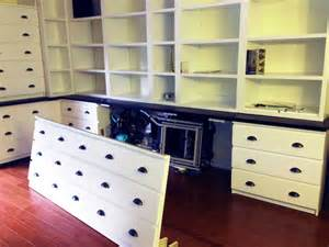 Living Room Side Table Ideas by Not Built In Ikea Cabinets Ikea Hackers Ikea Hackers
