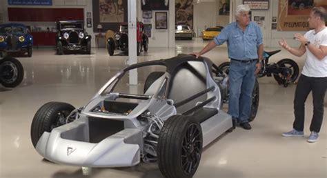 divergent blade  printed supercar visits jay lenos garage