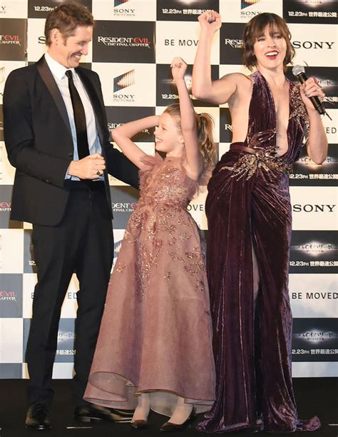 milla jovovich daughter milla jovovich not worried about daughter being in