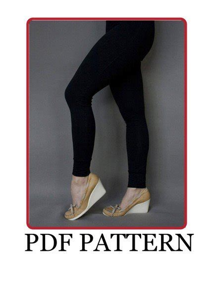 leggings pattern free download basic leggings pdf pattern sewing projects burdastyle com