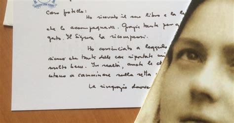la lettera mi ha scritto il papa su la profezia