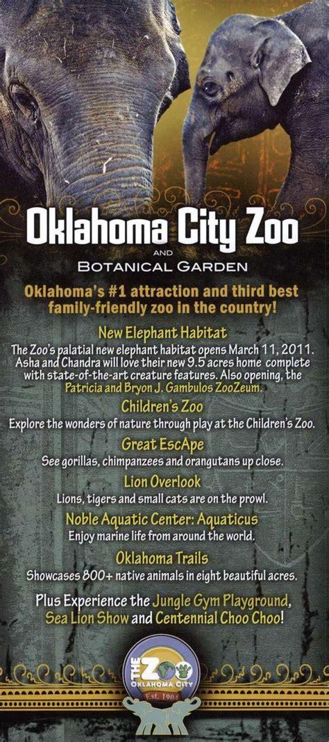 oklahoma city zoo zoo brochures gardens
